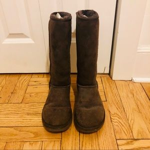 Ugg | tall chocolate ugg boots